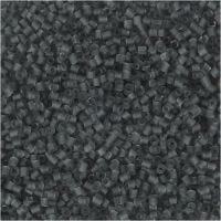 2-cut, diam: 1,7 mm, misura 15/0 , misura buco 0,5 mm, grigio transparent, 25 g/ 1 conf.