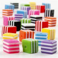 Mix multicolore, misura 8x8 mm, misura buco 2,5 mm, 110 ml/ 1 conf., 80 g