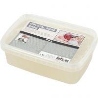 Base per sapone, transparent, 1 kg