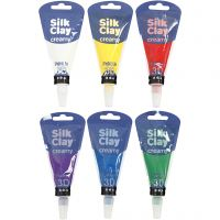 Silk Clay® Creamy, colori standard, 6x35 ml/ 1 set