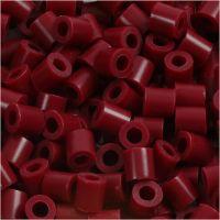 Perline a tubetto, misura 5x5 mm, misura buco 2,5 mm, medium, porpora (32239), 6000 pz/ 1 conf.