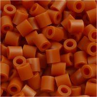 Perline a tubetto, misura 5x5 mm, misura buco 2,5 mm, medium, rosso marrone (32254), 1100 pz/ 1 conf.