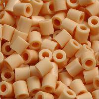 Perline a tubetto, misura 5x5 mm, misura buco 2,5 mm, medium, rosa chiaro (32228), 6000 pz/ 1 conf.