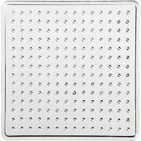 Pannello forato, piccolo quadrato, misura 7x7 cm, 10 pz/ 1 conf.