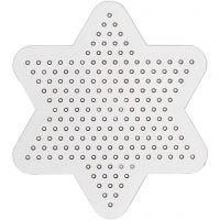 Pannello forato, stella piccola, diam: 10 cm, 10 pz/ 1 conf.
