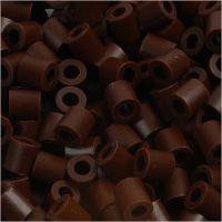 PhotoPearls, misura 5x5 mm, misura buco 2,5 mm, marrone (3), 6000 pz/ 1 conf.