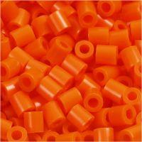 PhotoPearls, misura 5x5 mm, misura buco 2,5 mm, arancio chiaro (13), 6000 pz/ 1 conf.