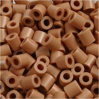 PhotoPearls, misura 5x5 mm, misura buco 2,5 mm, marrone chiaro (20), 6000 pz/ 1 conf.