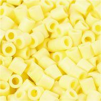 PhotoPearls, misura 5x5 mm, misura buco 2,5 mm, giallo chiaro (21), 1100 pz/ 1 conf.