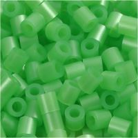 PhotoPearls, misura 5x5 mm, misura buco 2,5 mm, verde madreperlato (22), 1100 pz/ 1 conf.