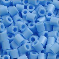PhotoPearls, misura 5x5 mm, misura buco 2,5 mm, blu pastello (23), 6000 pz/ 1 conf.