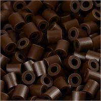 PhotoPearls, misura 5x5 mm, misura buco 2,5 mm, marrone scuro (2), 6000 pz/ 1 conf.