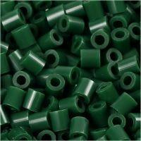 PhotoPearls, misura 5x5 mm, misura buco 2,5 mm, verde scuro (9), 1100 pz/ 1 conf.