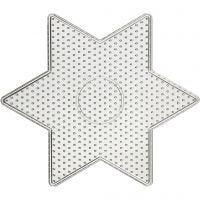 Pannello forato, stella grande, misura 15x15 cm, 10 pz/ 1 conf.