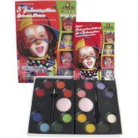 Set makeup con istruzioni, colori asst., 1 set