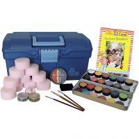 Make up Eulenspiegel - set fantasia, colori asst., 1 set
