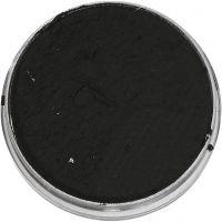 Pittura facciale a base d'acqua, nero, 3,5 ml/ 1 conf.