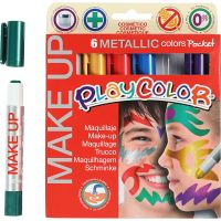 Playcolor Make Up, metallico, colori asst., 6x5 g/ 1 conf.