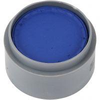 Pittura facciale a base d'acqua, blu scuro, 15 ml/ 1 vasch.