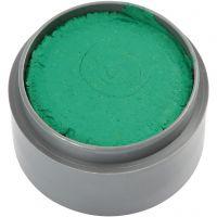 Pittura facciale a base d'acqua, verde, 15 ml/ 1 vasch.