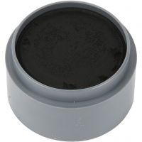 Pittura facciale a base d'acqua, nero, 15 ml/ 1 vasch.