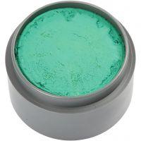 Pittura facciale a base d'acqua, verde acqua, 15 ml/ 1 vasch.