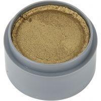 Pittura facciale a base d'acqua, oro, 15 ml/ 1 vasch.