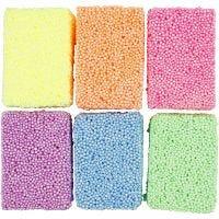 Soft Foam, colori neon, 6x10 g/ 1 conf.