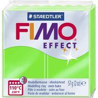 FIMO effect, verde neon, 57 g/ 1 conf.