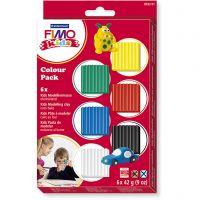 FIMO® per bimbi, colori standard, 6x42 g/ 1 conf.