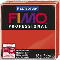 FIMO® Professional gioielli, rosso, 85 g/ 1 conf.