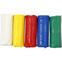 Pasta modellabile, H: 9,5 cm, colori asst., 400 g/ 1 secch.