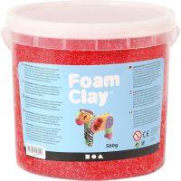 Foam Clay® , rosso, 560 g/ 1 secch.