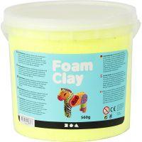 Foam Clay® , giallo neon, 560 g/ 1 secch.