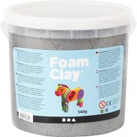 Foam Clay® , metallico, argento, 560 g/ 1 secch.