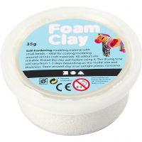 Foam Clay® , bianco, 35 g/ 1 vasch.