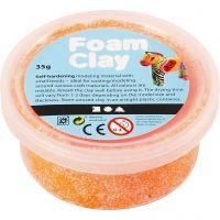Foam Clay® , neon orange, 35 g/ 1 vasch.