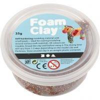 Foam Clay® , marrone, 35 g/ 1 vasch.