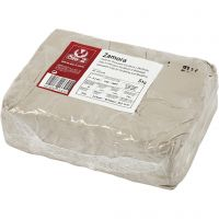 Argilla di porcellana, avorio, 5 kg/ 1 conf.