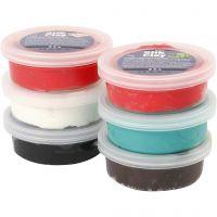 Silk Clay®, colori natalizi, 6x14 g/ 1 conf.
