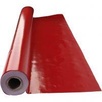 Tovaglia di tela cerata, misura 140 cm, rosso, 1 risma