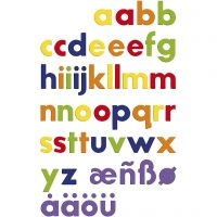 Lettere magnetiche, 48 pz/ 1 conf.