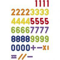 Numeri magnetici, 48 pz/ 1 conf.