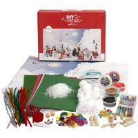 Kit paesaggio di Natale, 1 set