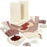 Confezione Happiness di Vivi Gade, oro, rosso, bianco, 1 set