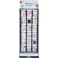 Mini Kit Creativi, H: 1500 mm, L: 580 mm, bianco, 108 set/ 1 conf.