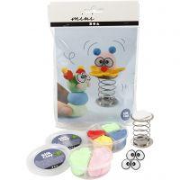 Mini kit creativo, clown, 1 set