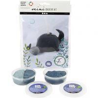 Mini Kit Creativi, Balena e vitello, 1 set