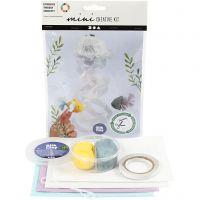 Mini kit creativi, Meduse e pesci, 1 set