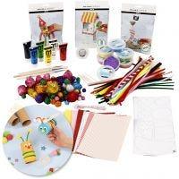 Kit – Diventa creativo con il riciclaggio, 1 set